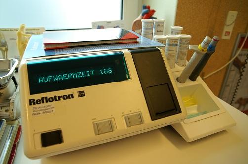 Labor 1 - Blutchemiegerät
